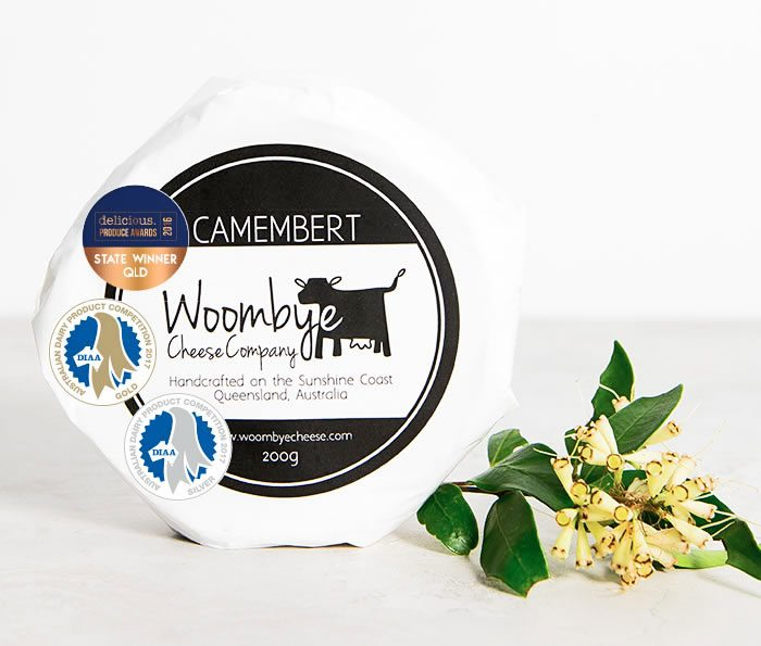 Woombye Cheese Company Camembert