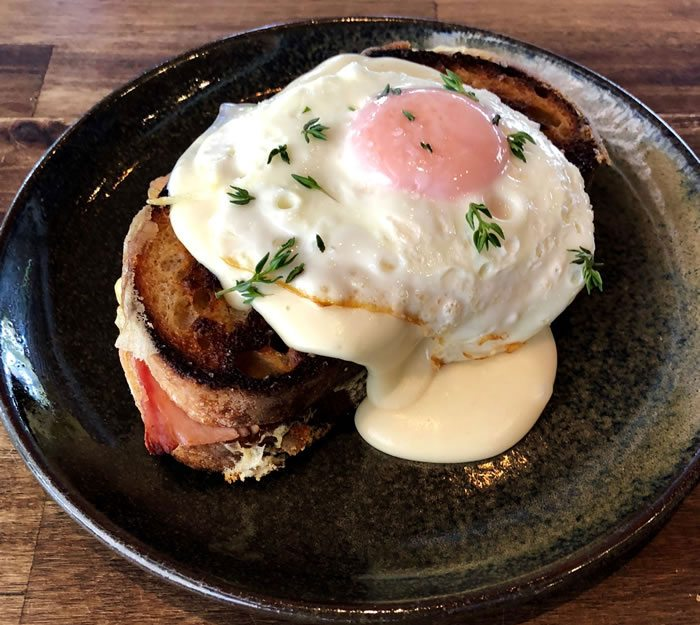 Woombye Cheese Company Recipes Camembert Croque Madame