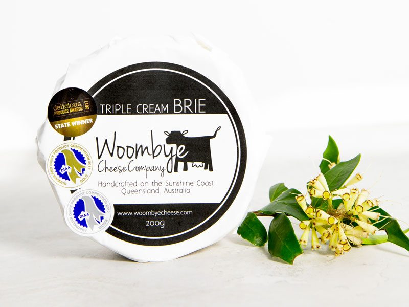 Woombye Cheese Company Triple Brie