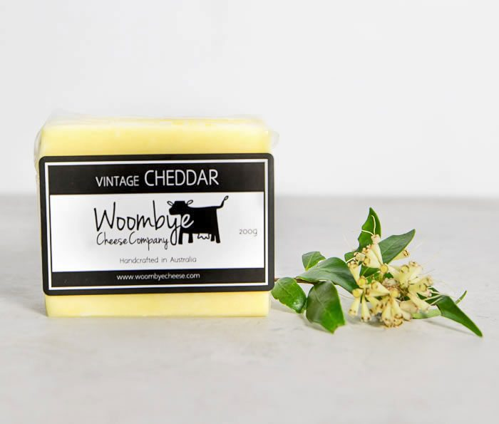 Woombye Cheese Company Vintage Cheddar
