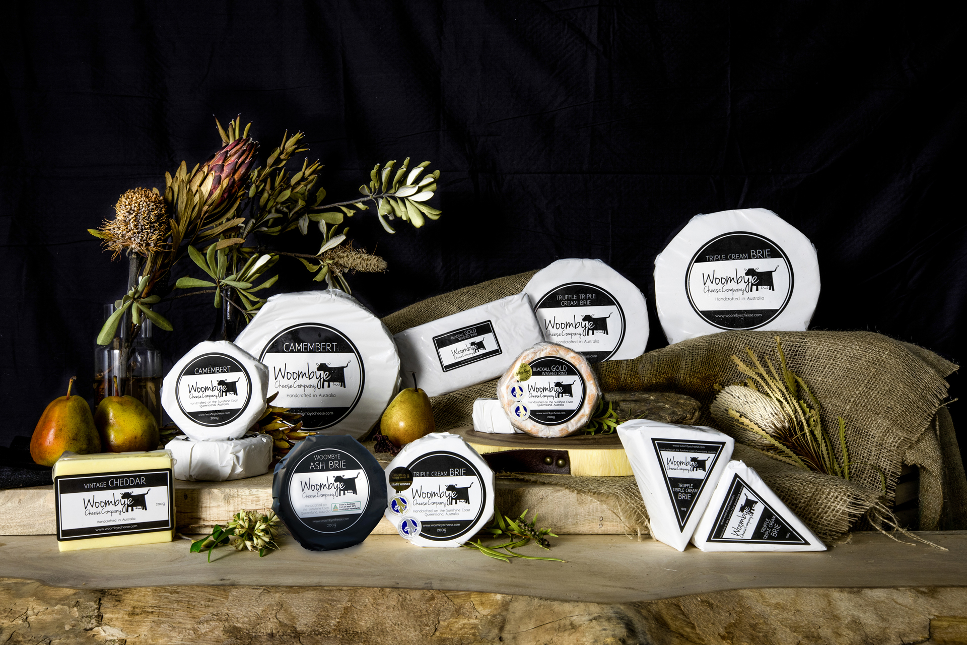 Woombye Assorted Cheeses