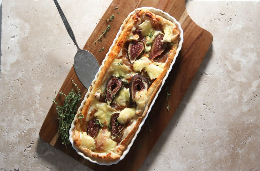 Recipe Ugly Duck Preserves Fig Fennel Tart